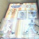 Carl Yastrzemski Henry Aaron Baseball Greats 1989 Kenner Starting Lineups RM*