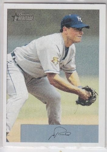 Joe Randa Baseball Trading Card 2002 Bowman Heritage #127 Royals