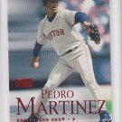 Pedro Martinez Rubies Parallel SP 2000 Skybox #51 SR Red Sox
