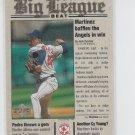 Pedro Martinez Big League Beat 2000 Upper Deck #BB14 Red Sox
