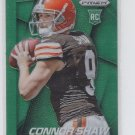 Connor Shaw Green Refractor 2014 Panini Prizm RC #230 Browns
