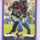 Andre Johnson Purple Refractors SP 2013 Topps Chrome #85 Texans 013/499