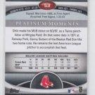 David Ortiz Ruby Parallel SP 2011 Bowman Platinum #53 Red Sox