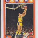 Jerry West Orange Hobby Parallel SP 2008-09 Topps #180 Lakers 0371/1199