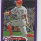 Hunter Pence Purple Retail Refractor 2012 Topps Chrome #82 Phillies Giants