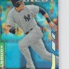 Jacoby Ellsbury Blue Refractors Parallel 2014 Topps Finest #47 Yankees 046/125