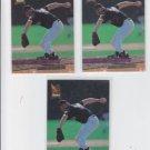 Steve Reed Rookie Card Lot of (3) 1993 Fleer Ultra #356 Rockies