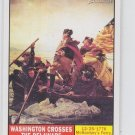 Washington Crosses The Delaware 2009 Topps Heritage American Heroes #106