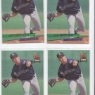 Mike Hampton Rookie Card Lot of (4) 1993 Fleer Ultra #620 Mariners