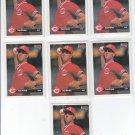 Tim Pugh RC Rated Rookie Card Lot of (7) 1993 Donruss #162 Reds