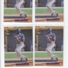 Domingo Martinez Rookie Card Lot of (4) 1993 Fleer Ultra #644 Blue Jays