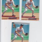 Terry Jorgensen Rookie Card Lot of (3) 1993 Fleer Ultra #232 Twins