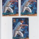Steve Shifflet Rookie Card Lot of (3) 1993 Fleer Ultra #216 Royals