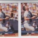 Dean Walters Rookie Card Lot of (2) 1993 Fleer Ultra #125 Padres