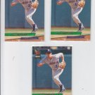 Brett Boone Rookie Card Lot of (3) 1993 Fleer Ultra #266 Mariners