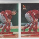 Dan Wilson Rookie Card Lot of (2) 1993 Fleer Ultra #337 Reds