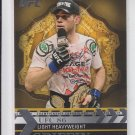 Forrest Griffin Championship Chronology Insert 2011 Topps UFC Title Shot #CC-26