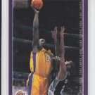 Shaquille O'Neal Basketball Card 2000-01 Topps #10 Lakers