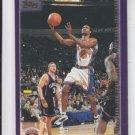 Latrell Sprewell Basketball Card 2000-01 Topps #18 Knicks