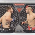 Carlos Condit & Dan Hardy Collision Course 2011 Topps UFC Moment of Truth #CC-MC