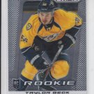 Taylor Beck Rookie Card 2013/14 Panini Prizm RC #258 Predators