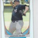Jonathan Holder Refractors 2014 Bowman Chrome Draft #CDP88 Yankees