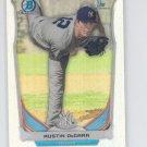 Austin DeCarr Refractors Parallel 2014 Bowman Chrome Draft #CDP60 Yankees