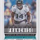 Justin Blackmon Future Franchise Football Trading Card 2013 Score #313 Jaguars