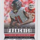 Julio Jones Future Franchise Football Trading Card 2013 Score #300 Falcons