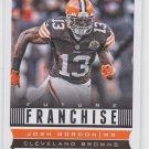 Josh Gordon Future Franchise Football Trading Card 2013 Score #306 Browns