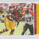Fred Davis Football Trading Card 2013 Score #218 Redskins