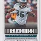 LeSean McCoy Franchise Football Trading Card 2013 Score #290 Eagles