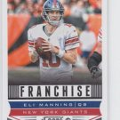 Eli Manning Franchise Football Trading Card 2013 Score #297 Giants