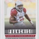 Larry Fitzgerald Franchise Football Trading Card 2013 Score #267 Cardinals