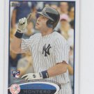 Jesus Montero Rookie Card 2012 Topps Seires 1 #9 Yankees QTY