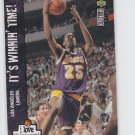 Eddie Jones I Love This Team French 1995-96 UD Collector's Choice #168 Lakers