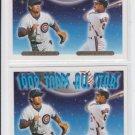 Ryne Sandberg Carlos Baerga Gold Parallel Lot (2) 1993 Topps LL #402 Cubs