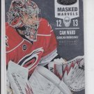 Cam Ward Masked Marvels Insert 2012/13 Panini Certified #118 Hurricanes 386/999