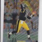 Kordell Stewart Football Card 1999 Topps Finest #3 Steelers Sharp!