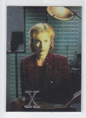 Dana Scully Chase Card 1995 Topps X-Files Chromium #X4 *ED