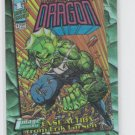 The Savage Dragon Chromium Refractor 1995 Topps Image Universe #D1 VHTG *ED