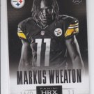 Marcus Wheaton HRX Insert 2013 Panini Prizm #14 Steelers Exclusive Video Code