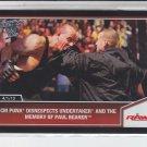 Undertaker & CM Punk Silver Parallel 2013 Topps Best of WWE #100