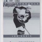 Joe Sakic Eternals Insert 2011-12 Panini Certified 1 Avalanche