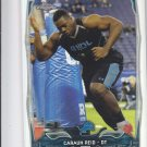 Caraun Reid RC Refractors Parallel 2014 Topps Chrome 215 Lions
