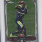 Bruce Ellington RC Football Trading Card 2014 Topps Chrome #116 49ers
