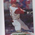 Greg Vaughn Baseball Trading Card 1999 Topps Stadium Club #311 Reds