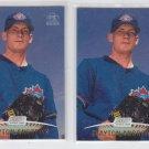 Clayton Andrews Rookie Card SP Lot of (2) 1999 Topps Stadium Club #147 Blue Jays