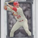 Mark McGwire Baseball Card 2014 Topps Museum Collection #74 Cardinals