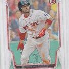 Shane Victorino Baseball Trading Card  2014 Bowman #205 Red Sox